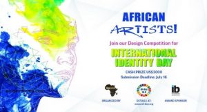 International Identity Day Design Competition 2021 for African Digital Artists- Apply Now