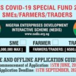 Apply Now For NEDIS COVID-19 Special Loan For Traders and Farmers